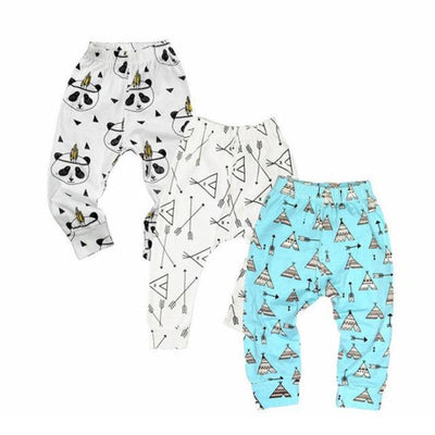 Floral 3 Pc Leggings set Baby girls - Loose fit 1 / 1-3 months