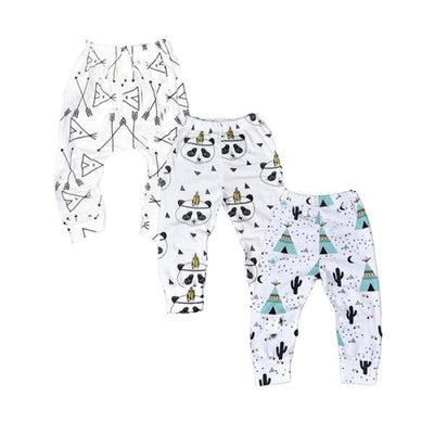 Floral 3 Pc Leggings set Baby girls - Loose fit 3 / 1-3 months