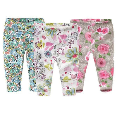 Floral 3 Pc Leggings set Baby girls - Skinny fit 3 / 1-3 months