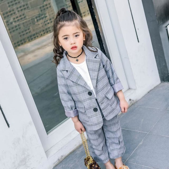 Formal Blazer Suit set for Girls