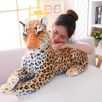 Giant Stuffed Plush Tiger Toy - 75 cm / orange