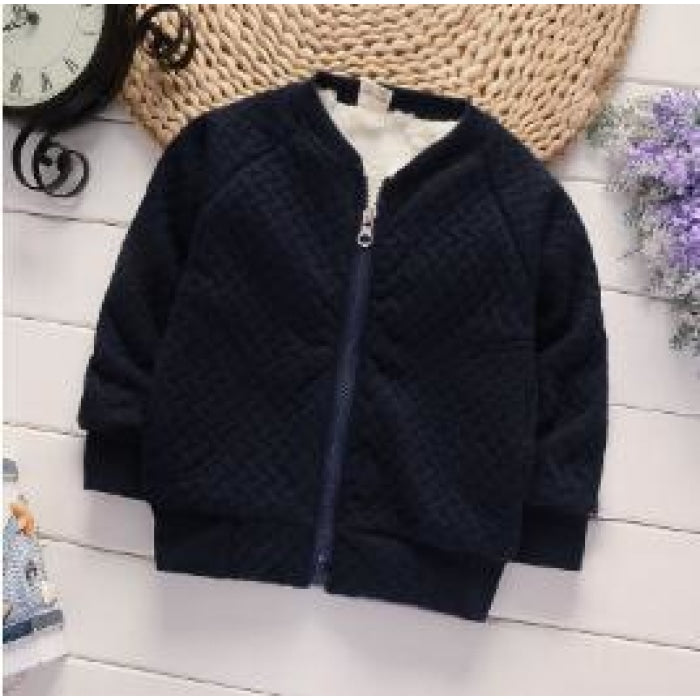 Girls Cotton Jacket with Full Sleeves for Winter Autumn