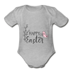 Happy Easter Onesie Baby Unisex - heather gray