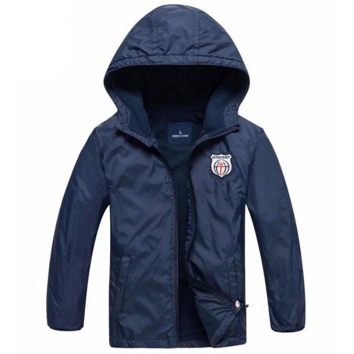 Hooded Sports Fleece Jacket for Toddlers