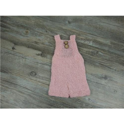 Infant Just born Mohair costume for Photoshoot - pink / newborn size