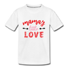 Kids Valentine T-shirt Mother's Little Love - white
