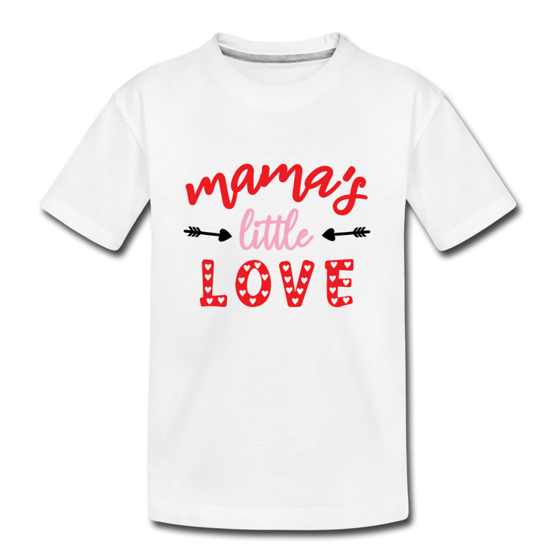 Kids Valentine T Shirt Mother's Little Love