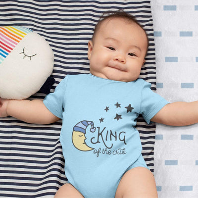 King of Crib Funny Baby Onesie Unisex