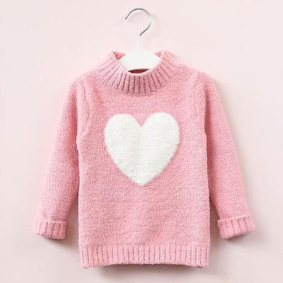 Lovable Cute Sweater for Toddler Girls - Pink / 18-24 months