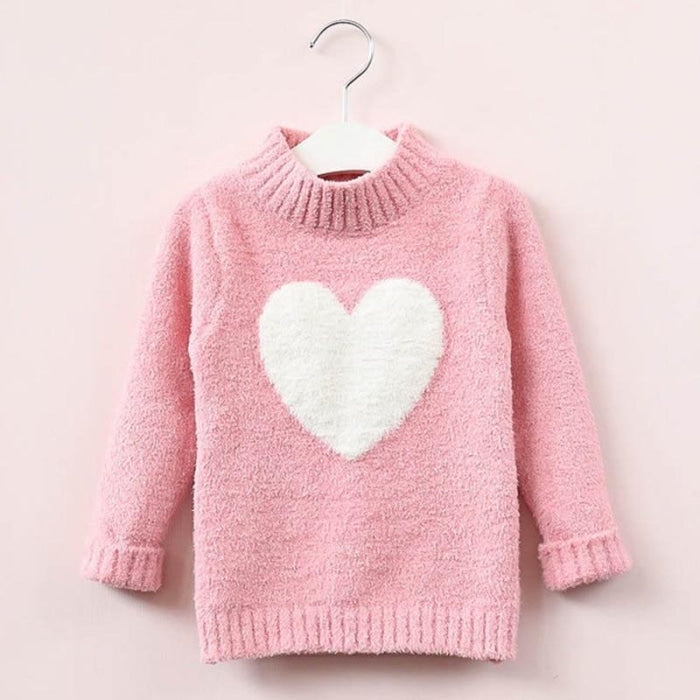 Lovable Cute Sweater for Toddler Girls