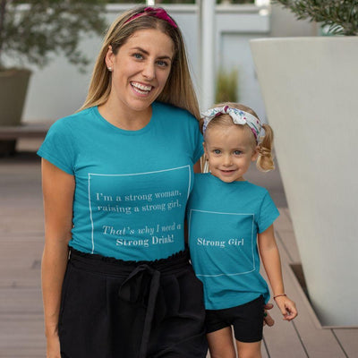 Matching Mommy & Me Strong Woman T-Shirt