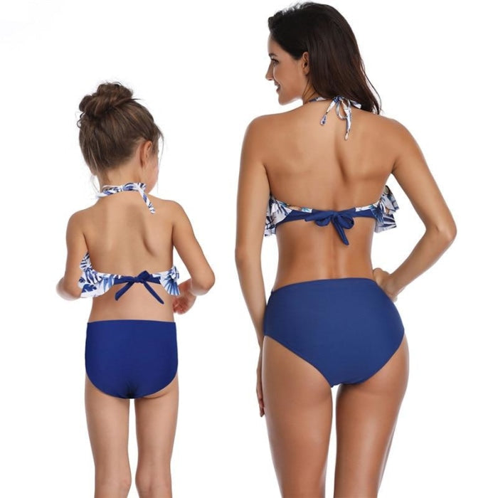 Matching Swimsuit Set for Mother and Daughter