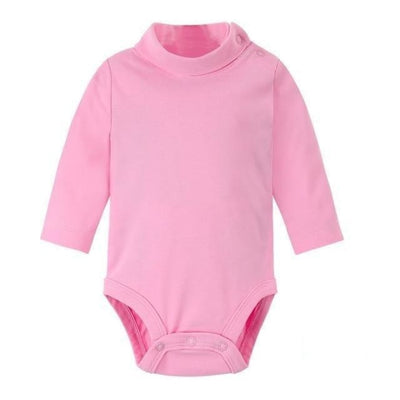 Multi Color Long Sleeve Infant Onesie - Pink / 1-3 months