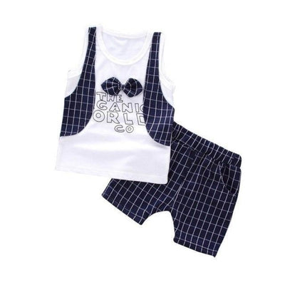Plaid Formal Clothing set for Boys - As shown / 18-24 months