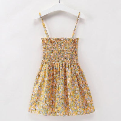 Ready for Summer Floral Print Cotton Dresses For Girls - As per pic / 18-24 months