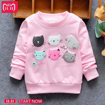 Regular Cartoon theme Sweatshirt for Girls