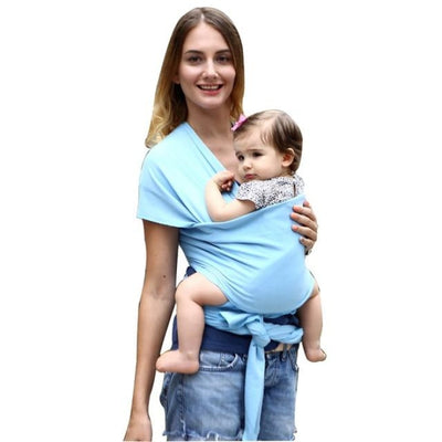 Soft and Comfortable Wrap Carrier for Baby - Dark Blue