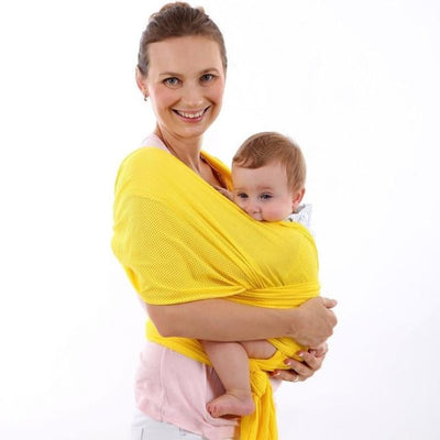 Soft and Comfortable Wrap Carrier for Baby - Dark Yellow
