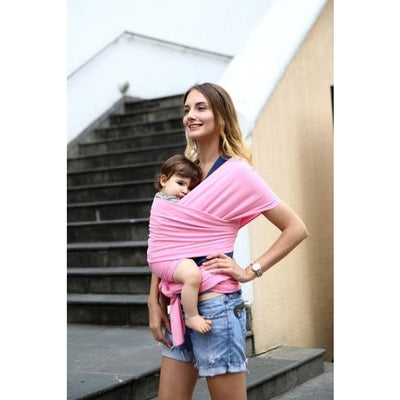 Soft and Comfortable Wrap Carrier for Baby - Pink