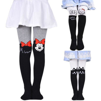 Solid Cartoon Character Design Pantyhose Tights