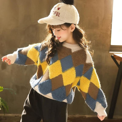 Stylish Cool Knitwear Sweater for Kids Unisex