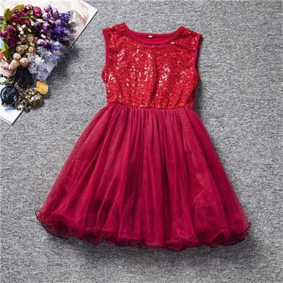 Stylish Dotted Party dress for Girls