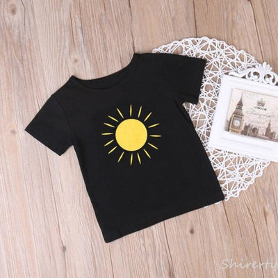 Sunshine Matching Tops for Mother and Son - As shown / Kid 12-18 months