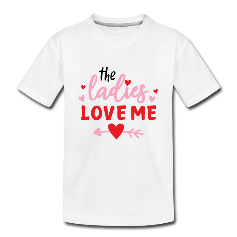 Toddler Boys Valentine T Shirt Ladies Love