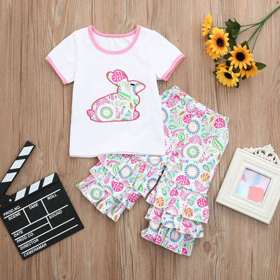 Toddler Girl Easter Dress Clothing Set