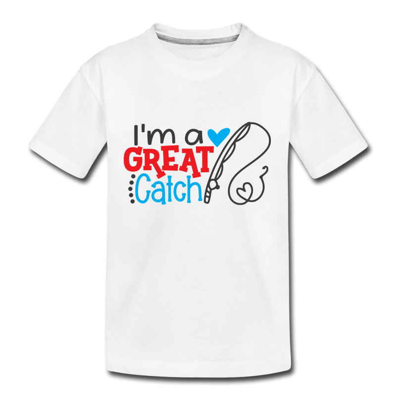 Toddler Kids Great Catch Valentine T Shirt