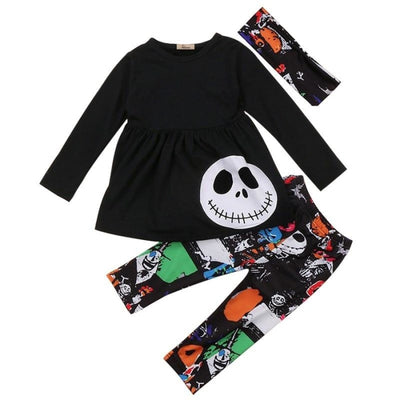 Trendy 3pc halloween clothing set for Girl - 18-24 months