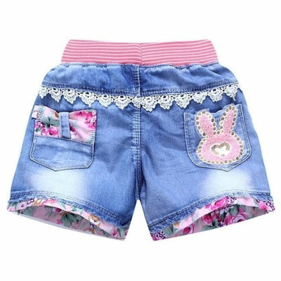 Trendy patchwork summer shorts for Girls - As picture / 2-3 years
