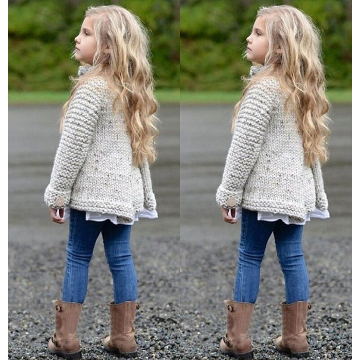 Trendy Woolen Winter Jacket for Girls
