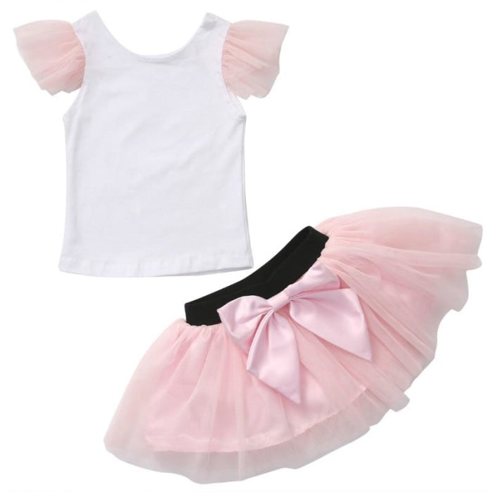 Tutu Skirt and Top Set for Mother and Daughter