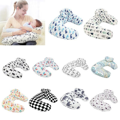 U-shaped Cotton Cushion Maternity Pillows for Breastfeeding & Baby Care