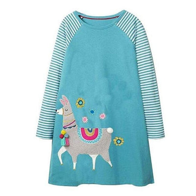 Unicorn Long Sleeve Dresses For Your Cute Little ones