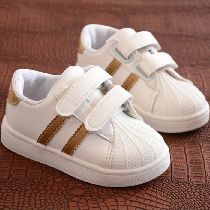 Unisex Baby Flat Sports Sneakers with Anti-Slip Sole