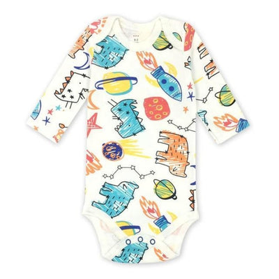 Unisex Cartoon pattern Bodysuit for Babies - Picture Color 11 / 9-12 months