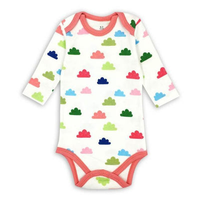 Unisex Cartoon pattern Bodysuit for Babies - Picture Color 2 / 9-12 months