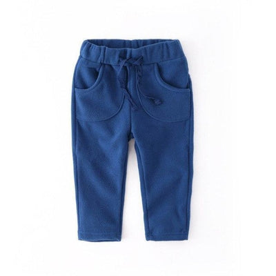 Unisex Polar Fleece pants for kids - Blue / 12-18 months