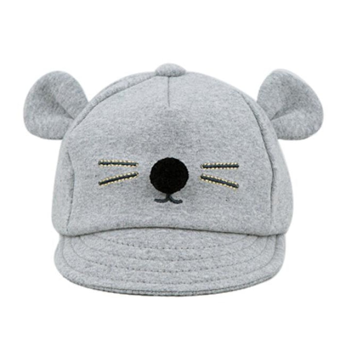 Unisex Winter Baby Hat with Cartoon Pattern for Babies