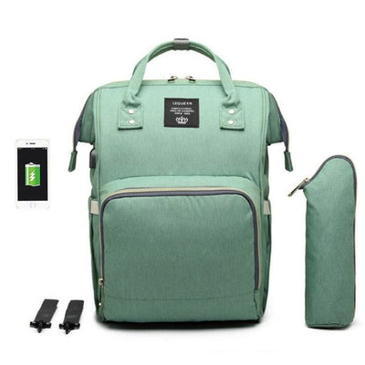 Waterproof Maternity Backpack for Mommy - Green