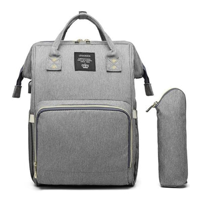 Waterproof Maternity Backpack for Mommy - Light Grey