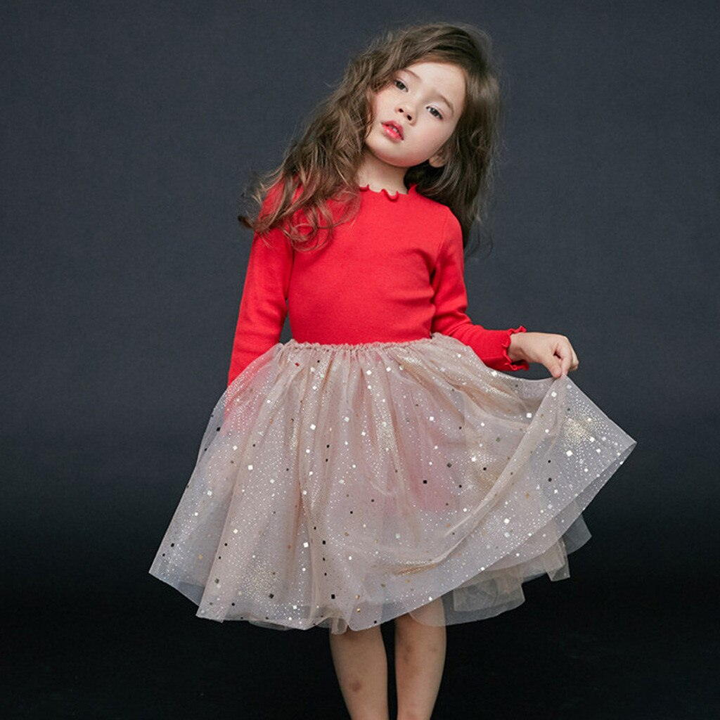 Wedding Birthday Party Dress for Toddler