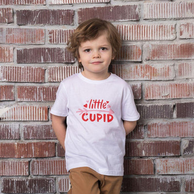 Young Boys Valentine T Shirt Little Cupid