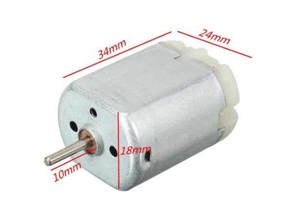 DOOR LOCK MOTOR 12V 10MM