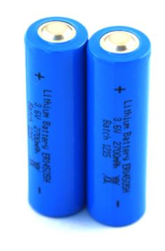 BATTERY 3.6V 14505 AA LITHIUM NON-RECHARGEABLE