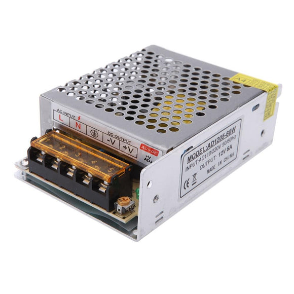POWER SUPPLY Industrial 5A 12V
