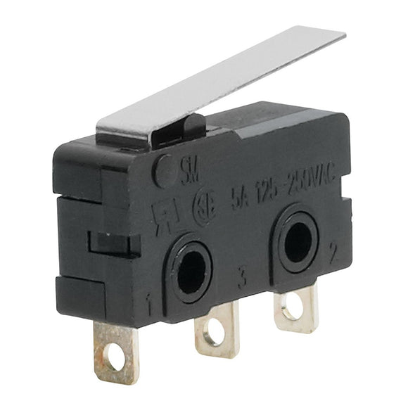 LEVER SWITCH 3A 250VAC 34mm 1PC (T115/T114)