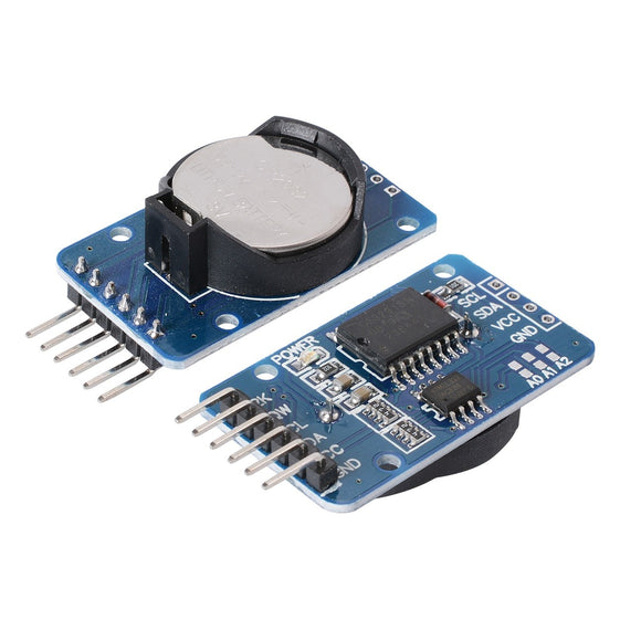 REAL TIME CLOCK MODULE_I2C DS3231 AT24C3